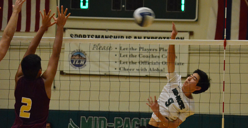 Volleyball at Mid-Pacific