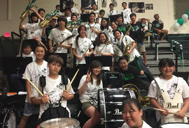 Pep Band offers musical support at games